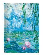 Cover-Bild zu Ladytimer Monet 2022 - Taschenkalender A6 (11x15 cm) - Weekly - 192 Seiten - Notiz-Buch - Termin-Planer - Alpha Edition