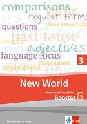 Cover-Bild zu New World 3. Grammar and Vocabulary, Booster 3G