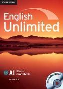 Cover-Bild zu English Unlimited. Starter. Coursebook von Doff, Adrian