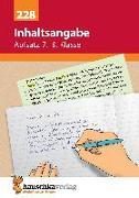 Cover-Bild zu Inhaltsangabe. Aufsatz 7.-9. Klasse von Widmann, Gerhard