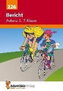 Cover-Bild zu Bericht. Aufsatz 5.-7. Klasse von Widmann, Gerhard