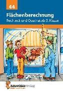 Cover-Bild zu Flächenberechnung - Umfang und Fläche von Rechteck und Quadrat von Hauschka, Adolf