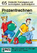 Cover-Bild zu Prozentrechnen (eBook) von Hauschka, Adolf