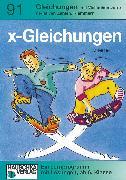 Cover-Bild zu x-Gleichnungen (eBook) von Hauschka, Adolf