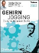 Cover-Bild zu Stefan Heine Gehirnjogging 2022 Tagesabreißkalender - 11,8x15,9 - Rätselkalender - Knobelkalender - Tischkalender
