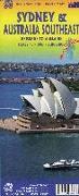 Cover-Bild zu Stadtplan Sidney /Australia Southeast 1:7.500 / 2.000.000. 1:10'000