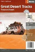 Cover-Bild zu Straßenkarte Simpson Desert 1:1 250 000. 1:1'250'000