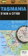 Cover-Bild zu Tasmania State & Cities 1 : 625 000