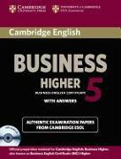 Cover-Bild zu Cambridge English Business Higher 05. With Answers von Cambridge ESOL