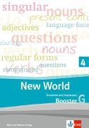 Cover-Bild zu New World 4. Grammar and Vocabulary, Booster 4G