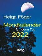 Cover-Bild zu Mondkalender für jeden Tag 2022 von Föger, Helga