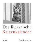 Cover-Bild zu Der literarische Katzenkalender 2022 von Bachstein, Julia (Hrsg.)