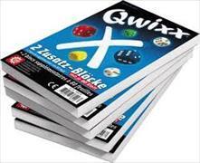 Cover-Bild zu Qwixx - 2 Zusatz-Blöcke von Benndorf, Steffen
