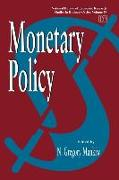Cover-Bild zu Monetary Policy von Mankiw, N. Gregory (Hrsg.)