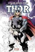 Cover-Bild zu Marvel Comics: COLOR YOUR OWN THOR