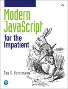 Cover-Bild zu Horstmann, Cay S.: Modern JavaScript for the Impatient (eBook)