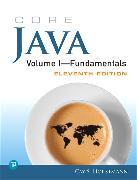 Cover-Bild zu Horstmann, Cay S.: Core Java Volume I--Fundamentals, 1