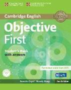 Cover-Bild zu Cambridge English. Objective First. Student's Book with answers von Capel, Annette