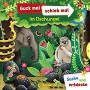 Cover-Bild zu Loewe Meine allerersten Bücher (Hrsg.): Guck mal, schieb mal! Suche und entdecke - Im Dschungel