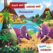 Cover-Bild zu Loewe Meine allerersten Bücher (Hrsg.): Guck mal, schieb mal! Suche und entdecke - Dinosaurier