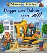 Cover-Bild zu Loewe Meine allerersten Bücher (Hrsg.): Zieh meine Seiten lang - Bagger und Bohrer legen los!