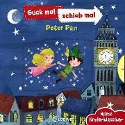 Cover-Bild zu Loewe Meine allerersten Bücher (Hrsg.): Guck mal, schieb mal! Meine Kinderklassiker - Peter Pan