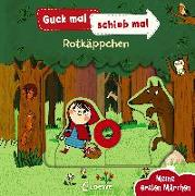 Cover-Bild zu Loewe Meine allerersten Bücher (Hrsg.): Guck mal, schieb mal! Meine ersten Märchen - Rotkäppchen
