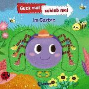 Cover-Bild zu Loewe Meine allerersten Bücher (Hrsg.): Guck mal, schieb mal! - Im Garten