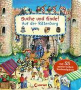 Cover-Bild zu Loewe Meine allerersten Bücher (Hrsg.): Suche und finde! - Auf der Ritterburg