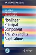 Cover-Bild zu Mori, Yuichi: Nonlinear Principal Component Analysis and Its Applications