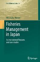 Cover-Bild zu Makino, Mitsutaku: Fisheries Management in Japan