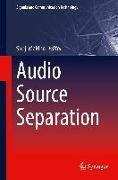Cover-Bild zu Makino, Shoji (Hrsg.): Audio Source Separation