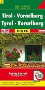 Cover-Bild zu Freytag-Berndt und Artaria KG (Hrsg.): Tirol - Vorarlberg, Autokarte 1:200.000. 1:200'000