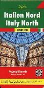 Cover-Bild zu Freytag-Berndt und Artaria KG (Hrsg.): Italien Nord, Autokarte 1:500.000. 1:500'000