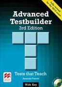 Cover-Bild zu Advanced Testbuilder 3rd edition Student's Book with key Pack von French, Amanda