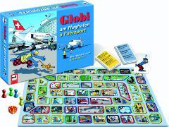 Cover-Bild zu Globi Flughafenspiel von Schmid, Heiri (Illustr.)