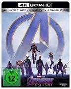 Cover-Bild zu Avengers- Endgame - 4K + 2D - Steelbook (3 Disc) von Russo, Anthony (Reg.)