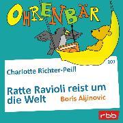 Cover-Bild zu Richter-Peill, Charlotte: Ohrenbär - eine OHRENBÄR Geschichte, Folge 103: Ratte Ravioli reist um die Welt (Audio Download)