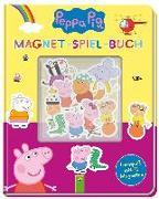 Cover-Bild zu Peppa Pig Magnet-Spiel-Buch von Teller, Laura