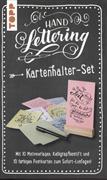 Cover-Bild zu Handlettering Kartenhalter-Set