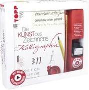 Cover-Bild zu Kreativ-Set Die Kunst des Zeichnens Kalligraphie von Lux, Andreas