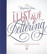 Cover-Bild zu Lust auf Lettering von Flor, Martina