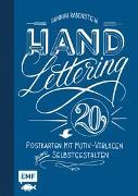 Cover-Bild zu Handlettering: 20 Postkarten mit Motiv-Vorlagen zum Selbstgestalten von Rabenstein, Hannah