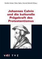 Cover-Bild zu Johannes Calvin und die kulturelle Prägekraft des Protestantismus von Campi, Emidio (Hrsg.)