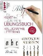 Cover-Bild zu Die Kunst des Zeichnens - Kalligraphie Lettering Übungsbuch