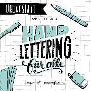 Cover-Bild zu Handlettering für alle! Das Übungsheft von Luttenberg, Karin