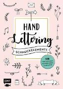Cover-Bild zu Handlettering-Schmuckelemente - 999 Vorlagen zum Nachzeichnen und Abpausen