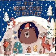 Cover-Bild zu In der Weihnachtshöhle ist noch Platz von Mauder, Katharina