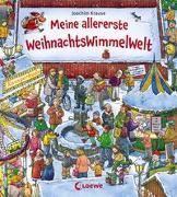 Cover-Bild zu Meine allererste WeihnachtsWimmelWelt von Krause, Joachim (Illustr.)
