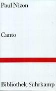 Cover-Bild zu Canto von Nizon, Paul